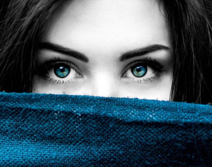 پنهان کردن چشم